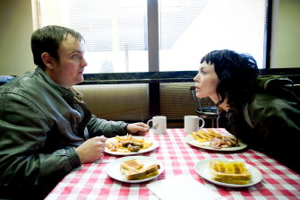 Fiona O'Shaughnessy and Neil Maskell in Utopia.