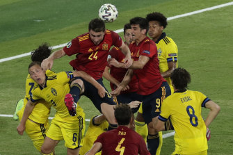 Spain were unable to find the net during their Euro 2020 opener against Switzerland.