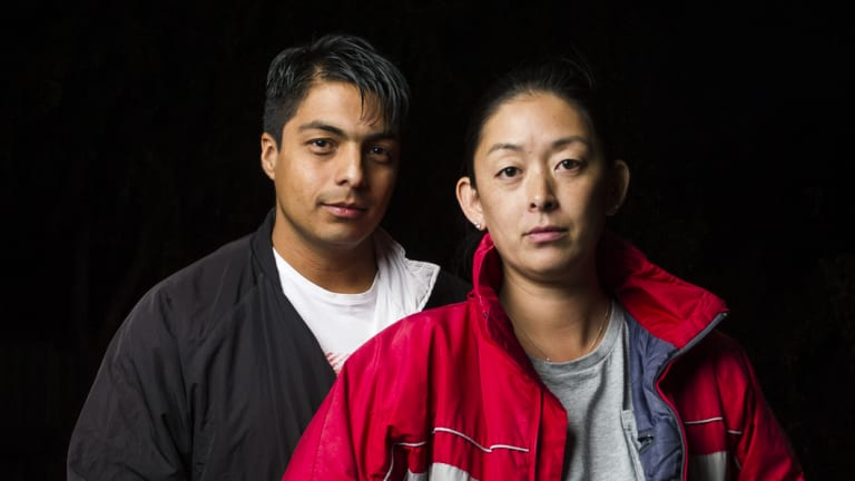 Josue and Kristen Castro work multiple jobs yet struggle to manage expenses with the rising cost of living.