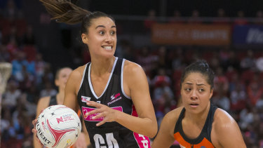 Star recruit Maria Folau's Thunderbirds have improved, but not by much.