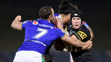 Penrith's Matt Burton has impressed in the two weeks without Nathan Cleary.