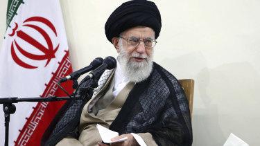 Iran's Supreme Leader Ayatollah Ali Khamenei.