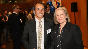 Dave Sharma and Lucy Turnbull.