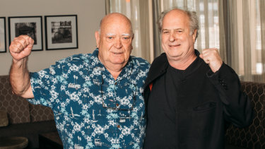 Veteran promoters Michael Chugg and Michael Gudinski merged businesses before selling a half-stake  to AEG Presents last year,