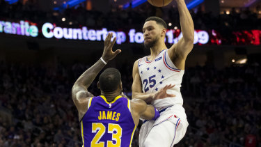 Investigation: The NBA is looking into any links between Ben Simmons and the Lakers.