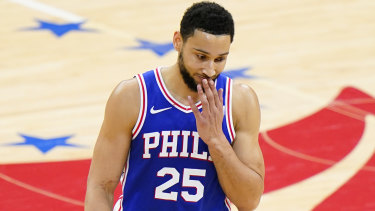 Ben Simmons did not play for the Boomers against the USA in 2019.