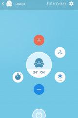 The Sensibo app.