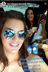 Nicole Gazal O'Neil posted on her Instagram about a trip to a beauty parlour with Krissy Marsh.