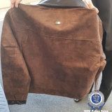 Police allege Mr Gallo sold fake leather jackets for hundreds of dollars.