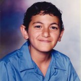 Author Michael Mohammed Ahmad as a Punchbowl Boys' High student in 2001.