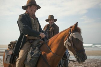 John C. Reilly and Joaquin Phoenix in the inexplicably overlooked The Sisters Brothers.