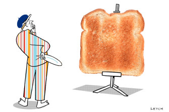 Toast, a versatile culinary canvas.