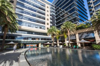 The Centuria Office REIT owns 201 Pacific Highway, St Leonards, Sydney