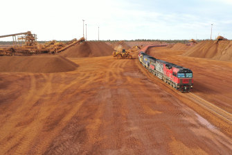 Strong iron ore exports are expected to contribute to Australia's strong recovery from the coronavirus pandemic recession.