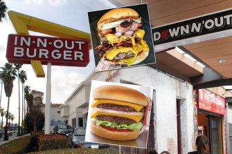 Food fight: In-N-Out sued Down N' Out in the Federal Court.