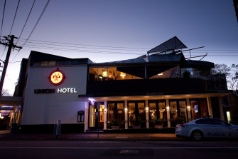 The Gallagher family have sold the Union Hotel in North Sydney for $20m.