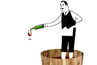 Increasingly, house wine is being gussied up with a clever name.