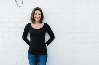 Kate James left her city life four years ago.
