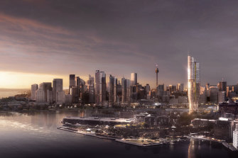 The Independent Planning Commission rejected a proposal by the Star casino to build a 237-metre tower in Pyrmont.