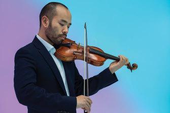 Outstanding: Australian Brandenburg Orchestra concertmaster Shaun Lee-Chen.