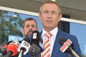 WA Health Minister Roger Cook said WA's ongoing campaign to restrain and isolate the virus had so far been successful.