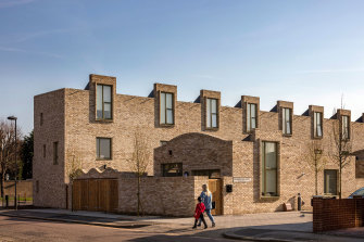 Peter Barber architect, social rented housing Ordnance Road, Enfield, London
