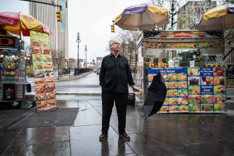 Peter Carey this week on a rainy day in New York, where he has lived for three decades.