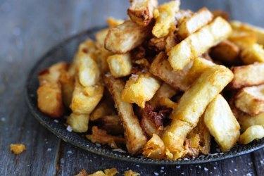 Danielle Alvarez's homemade fries (chips) recipe.