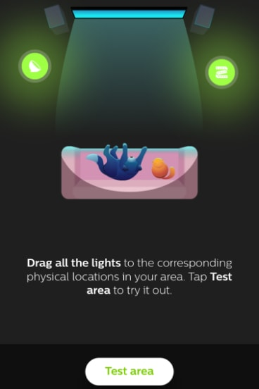 The Mobile App Lets You Set The Position Of Your Lights.