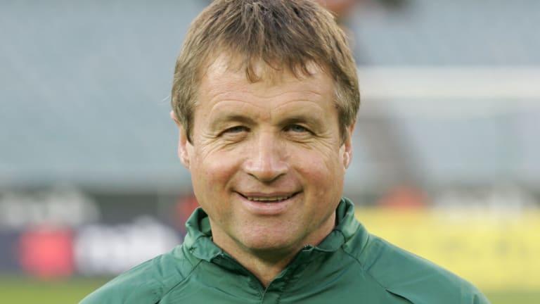 Former Socceroos coach Ron Smith.
