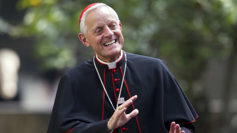 Cardinal Donald Wuerl, archbishop of Washington in the Vatican in 2015.