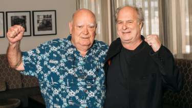 "Michael Chugg of Chugg Entertainment and Michael Gudinski of Frontier Touring are entering a ""joint partnership""."