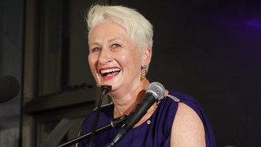 Kerryn Phelps on Saturday night.