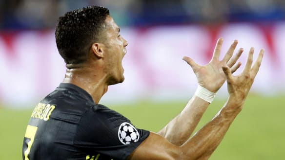 Juventus win despite Ronaldo's straight red, City stunned