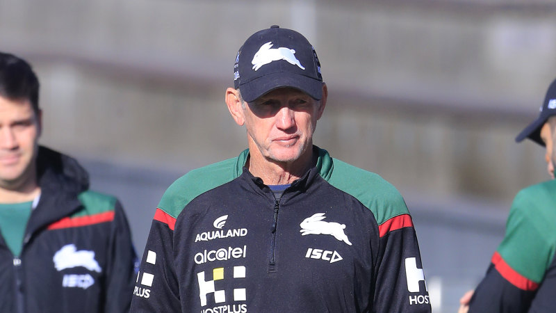 'Wayne will see out his deal': Souths say coach safe despite Walker scandal