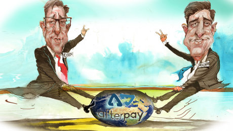 Afterpay, founded by Anthony Eisen and Nick Molnar, is planning a US sharemarket listing.