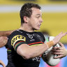 Panthers stamp premiership credentials as Smith botches Storm challenge
