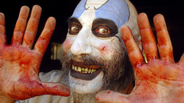 Sid Haig in cult horror film <i>The Devil's Rejects</i>.