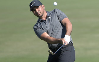 Chasing history: Jason Day on the sixth fairway at the Arnold Palmer Invitational in Orlando.