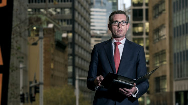 NSW Treasurer Dominic Perrottet is pushing for rent relief for commercial tenants to save small businesses.