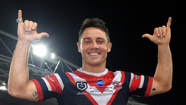 The match was Cronk's last in a glittering career.