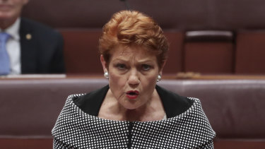 Senator Pauline Hanson said the government had agreed to One Nation's demand to legislate a definition of academic freedom as part of its higher education reforms.
