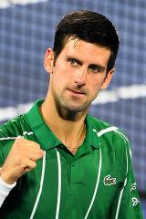 Novak Djokovic is a member of the ATP Player Council.