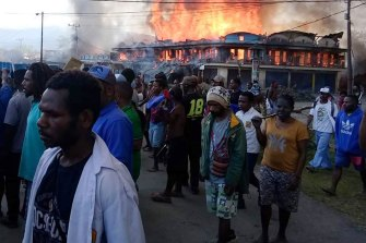 Dozens were killed during a violent protest in Wamena, Papua province.