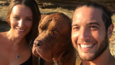 MS sufferer Ashley Berini and her husband Freddy Dordoni.