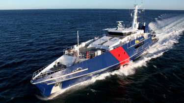 Four of the Australian Border Force's eight Cape Class patrol boats are believed to be docked for maintenance at present.