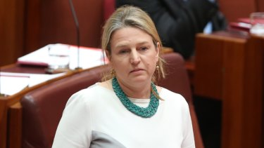 """Free speech """"alive and well"""": Labor's assistant minister for universities, Louise Pratt."""