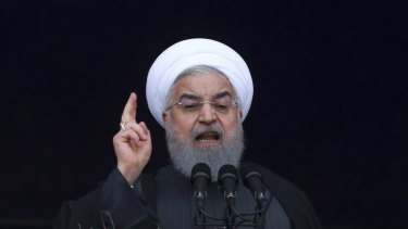 Iranian President Hassan Rouhani is reported to have spoken to Pakitan's Imran Khan on Saturday.