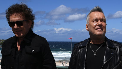 New Cold Chisel single gives Barnesy a breather