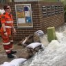 Residents forced to leave flooded homes after water main bursts in Sydney's west